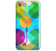 Abstract Vinyl Record Turntable iPhone Case/Skin