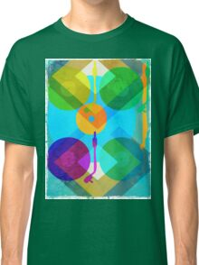 Abstract Vinyl Record Turntable Classic T-Shirt