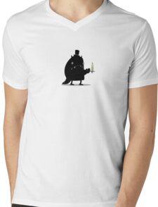 Night monster Mens V-Neck T-Shirt