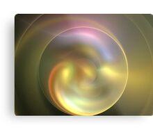 Gold Sun Rings Metal Print