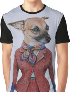 dog lady in uniform  Graphic T-Shirt