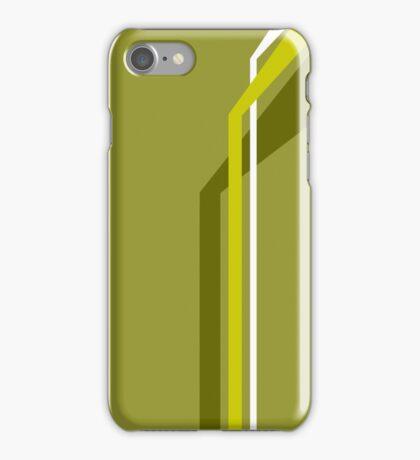 Flying Vanes - Yellow iPhone Case/Skin