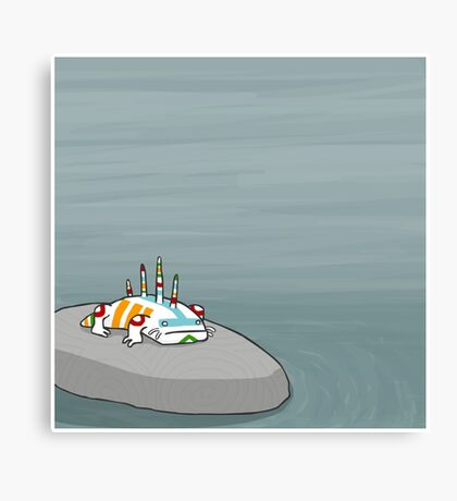 Bake Canvas Print