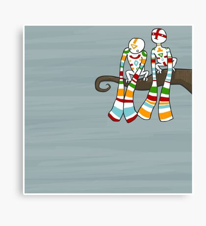 Dangle Canvas Print