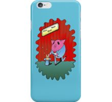 Magician PiGgy! iPhone Case/Skin