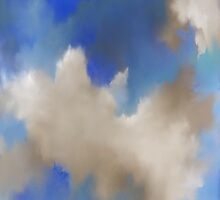 Clouds & Blue Sky Shining on Me by BarbaraCleland