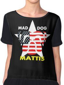 Mad Dog Mattis Chiffon Top