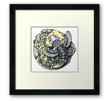 Scale & Feather Framed Print