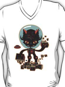 Dj Hammerhand cat - Party at OGM garden T-Shirt