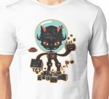 Dj Hammerhand cat - Party at OGM garden Unisex T-Shirt