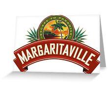 Jimmy Buffett Escape to Paradise Margaritaville Greeting Card