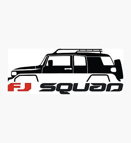 FJ Squad for FJ Cruiser fans Photographic Print