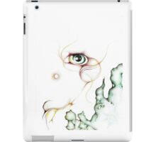 Colorful Nebula Eyeball Colored Pencil iPad Case/Skin