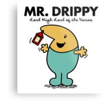 Mr. Drippy Metal Print