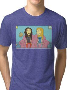 Beavis & Butthead - 'We're Chicks' Tri-blend T-Shirt