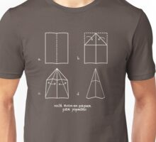 Paper Airplane 47 Unisex T-Shirt