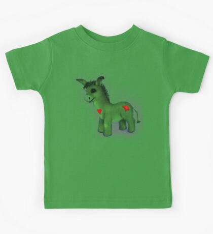 Well Loved Donkey Toy Kids Tee