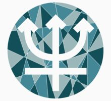 Neptune Symbol by Dillon Finley
