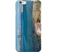 Barcelona sea landscape iPhone Case/Skin