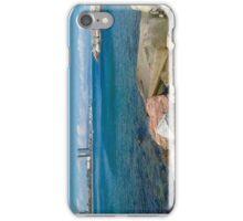 Barcelona sea landscape iPhone Case/Skin