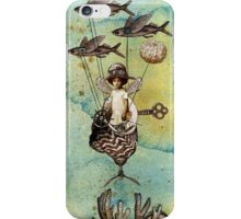 Flotilla - Amelie and Flying Fish iPhone Case/Skin