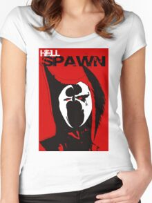 Hell Spawn Women's Fitted Scoop T-Shirt