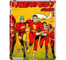 America's Best Comics no.1 Golden Age Fawcett Heroes iPad Case/Skin