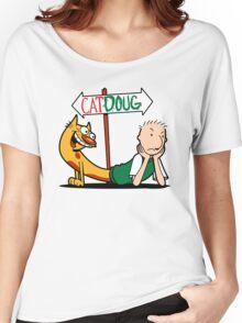 Catdoug Women's Relaxed Fit T-Shirt