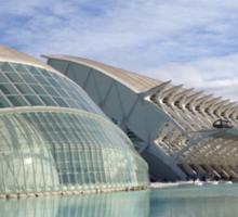 Valencia City of Arts and Sciences Sticker