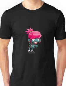 Cute Zombie Girl Unisex T-Shirt