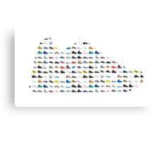 Sneaker's sneaker Canvas Print