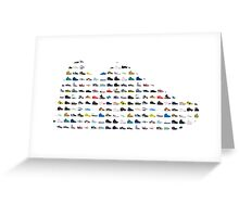 Sneaker's sneaker Greeting Card