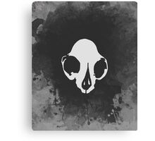 Crux (White) Canvas Print
