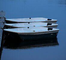 Three Boats by Gilda Axelrod