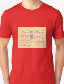 The Warning - When I am an old woman I shall wear purple T-Shirt