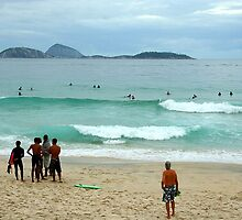 Ipanema beach, Brazil by Maggie Hegarty