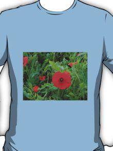 A Soldier's Life - Poppy Close-up T-Shirt
