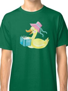 Mother duck reading story time Classic T-Shirt