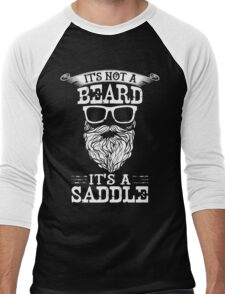 It's Not A Beard, It's a Saddle Men's Baseball ¾ T-Shirt