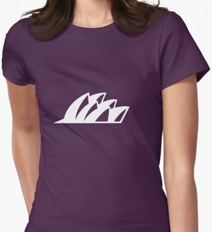 Sydney Opera House Womens Fitted T-Shirt