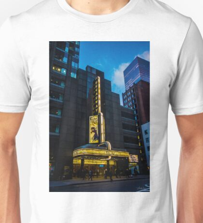 The Broadway Theatre, Broadway, New York City, USA. Unisex T-Shirt