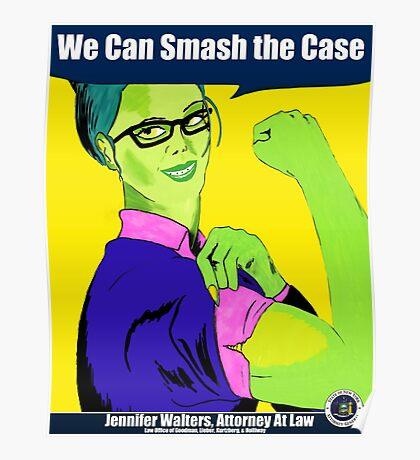 We Can Smash the Case! Poster