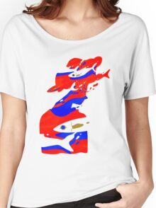 The girl who cried fishes Women's Relaxed Fit T-Shirt