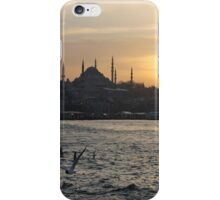 Sunsets in Istanbul iPhone Case/Skin