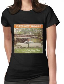 Driving Wheel (Blues album) Womens Fitted T-Shirt
