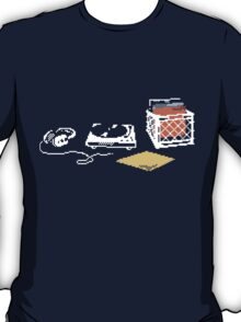 Vinyl Lover Pixel Art T-Shirt
