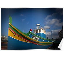 A boat on Gozo Poster