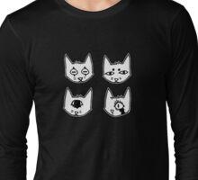 C@ (black) Long Sleeve T-Shirt
