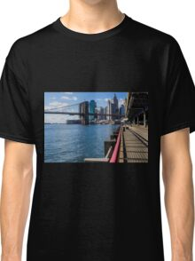 Brooklyn Bridge, New York, USA. Classic T-Shirt