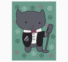Lounge Singer Cat Kids Clothes